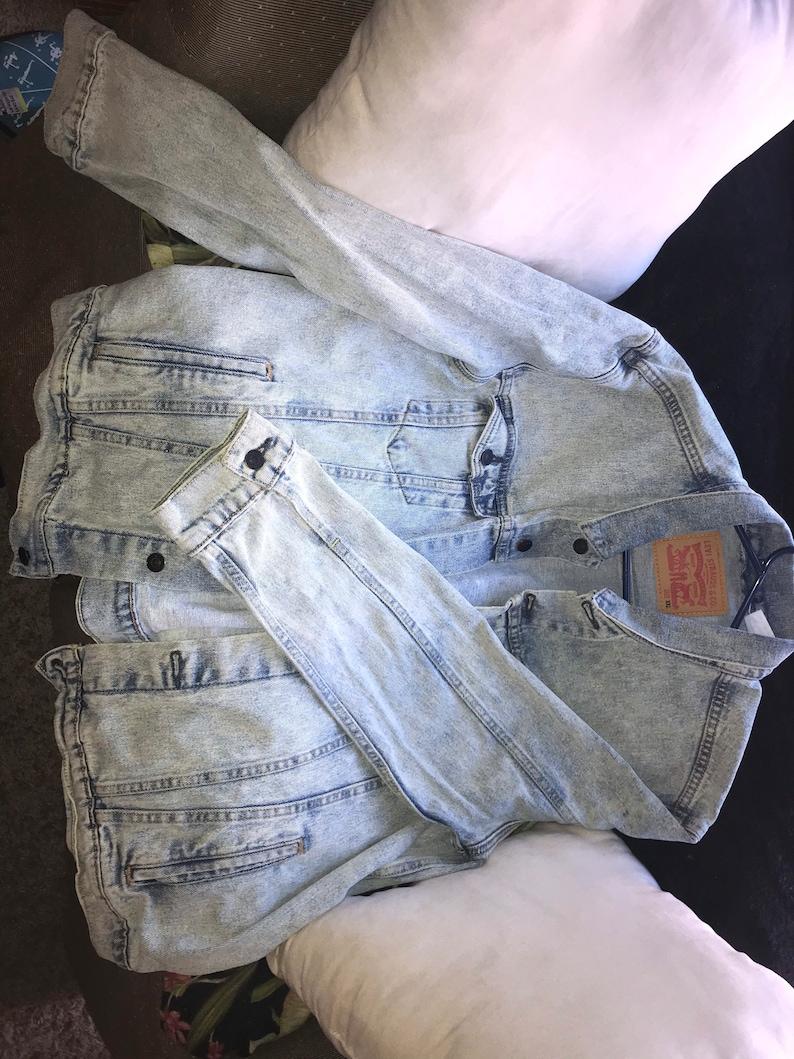 Upcycled denim jacket