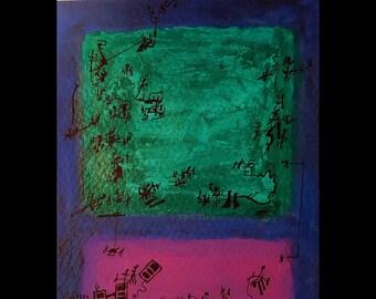 I dream of living Rothko