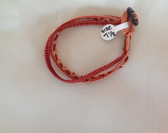 Colorful Multi Strand Bracelet