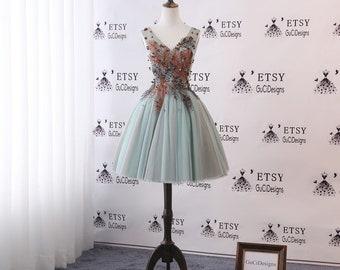 cf1bb45bbbed2 Prom dress short | Etsy