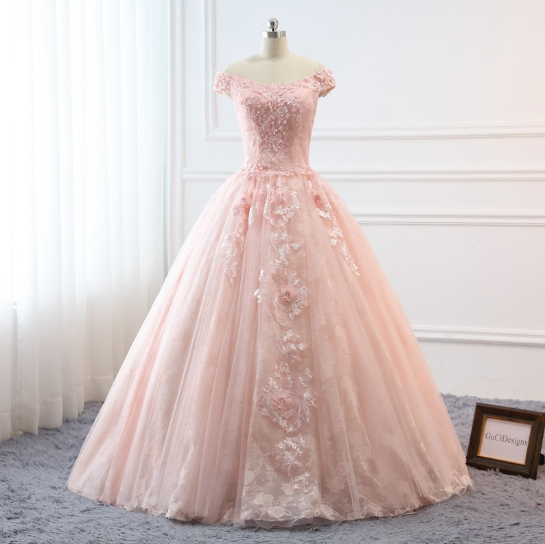 349964d93 Pretty Quinceanera Dress Ball Gown Flowers Evening Dress Long