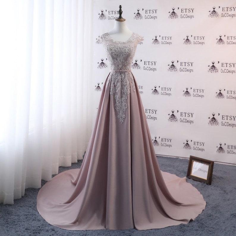 d9f1aaab17 2018 Women Formal Dresses khaki Long Prom Dresses Sexy Back