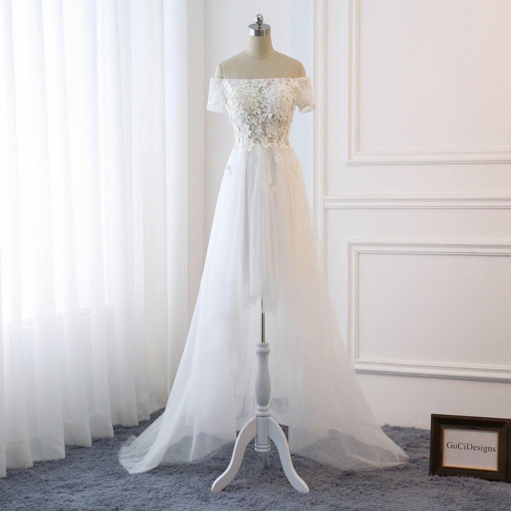 af0782ea30 Romantic Beach Wedding Dress - Gomes Weine AG