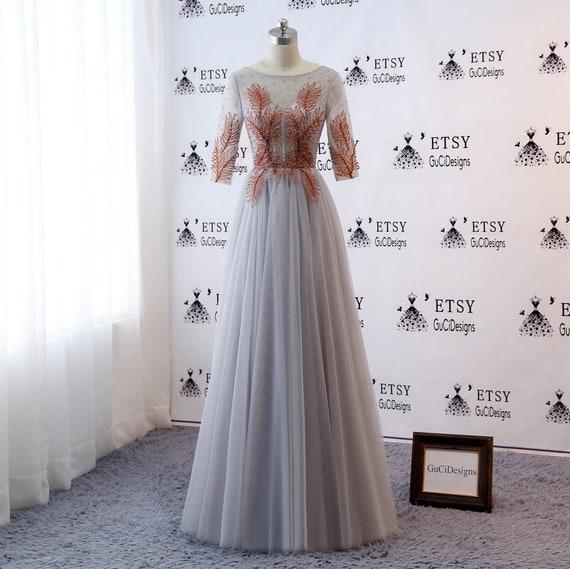 Etsy Brown Evening Dresses