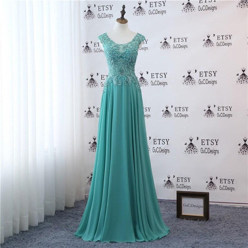 f8ff5d9387 Modest Evening Gown For Wedding Women Formal Party Dress Long