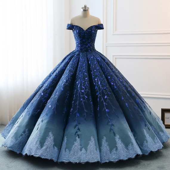 High Quality 2019 Modest Prom Dresses Ombre