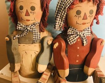 Vintage Raggedy Ann & Andy