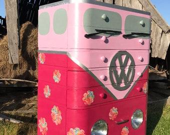 Recreated Vintage VW dresser