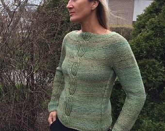 Bold Sweater PDF Knitting Pattern