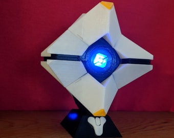 Destiny Ghost with Free Stand Destiny Destiny cosplay Destiny 2 Destiny Game Destiny replica Personalized Cosplay LED 3D Printed Prop