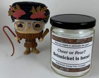 Belsnickel   Cheer or Fear   Impish or Admirable   The Office Inspired Candle