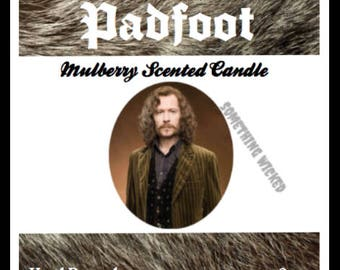 Harry Potter | Sirius Black | Padfoot | Animagus | Inspired Candle