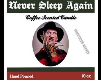 Freddy Krueger | Nightmare On Elm Street | Horror Villain | Coffee Scented | Inspired Candle