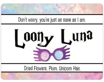 Loony Luna   Wizarding Inspired Candle