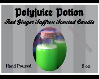 Harry Potter   Polyjuice Potion   Inspired Candle