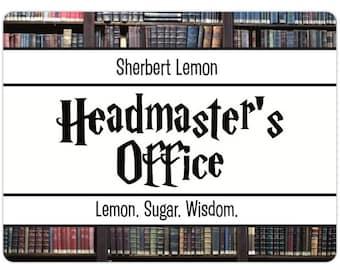 Headmaster's Office   Sherbert Lemon Inspired Candle