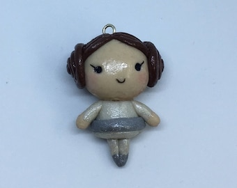 Princess Leia Charm