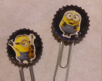 Minions altered paper clips