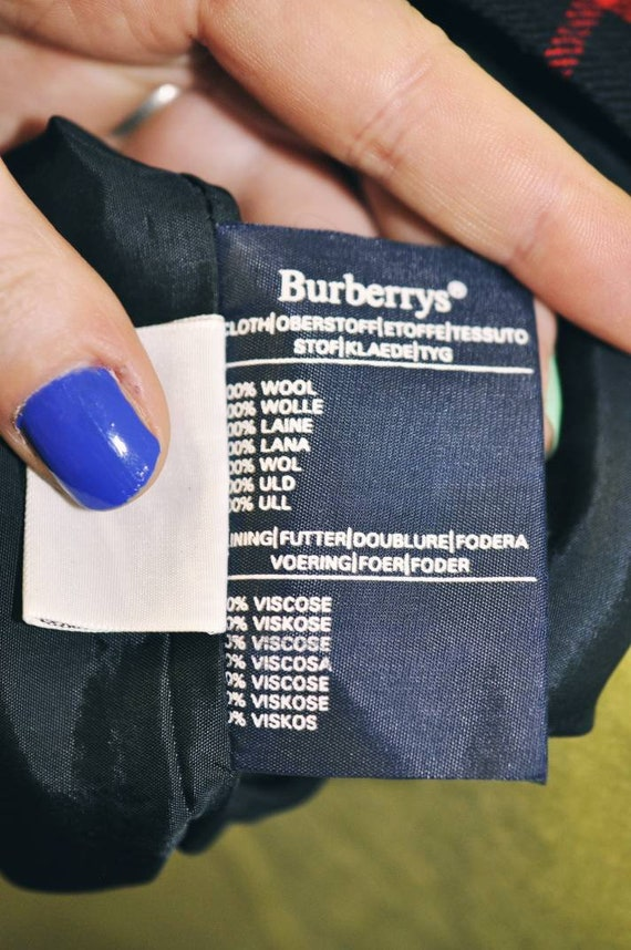 Burberry trousers, Burberry check pants, tartan t… - image 9