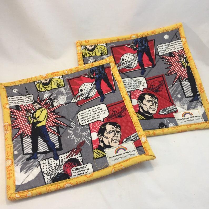 Star Trek Zipper pouches and pot holders