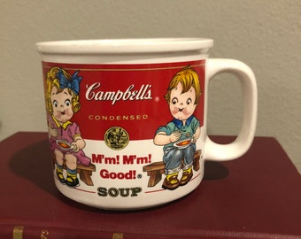 Vintage Campbell's Soup Mug 1993 by Westwood