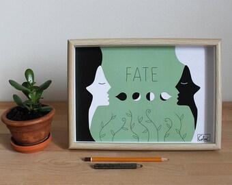 Illustration Print - Fate