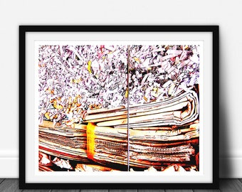 Paper, Abstract photography, Abstract Photo, Abstract Photography Print, Abstract Art, Abstract Art Print, Abstract Print, Digital Download