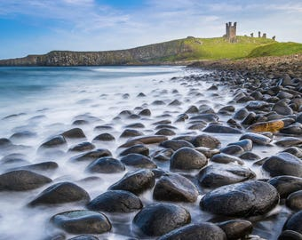 Dunstanburgh Castle, Northumberland. Original Photograph, available in various sizes
