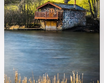 The Duke of Portland Boathouse, Ullswater, Lake District. Available in various sizes