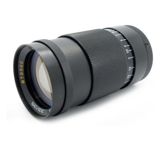 Jupiter-37A 135mm F3.5 Russian Portrait Lens for Micro 4//3