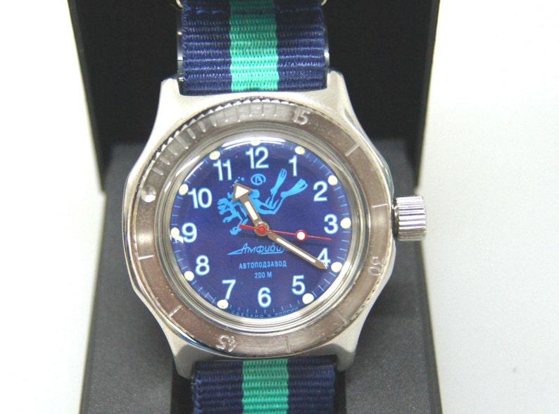 Vostok Amphibia Mod Russian Diving Watch Mod 34  515ac6301f