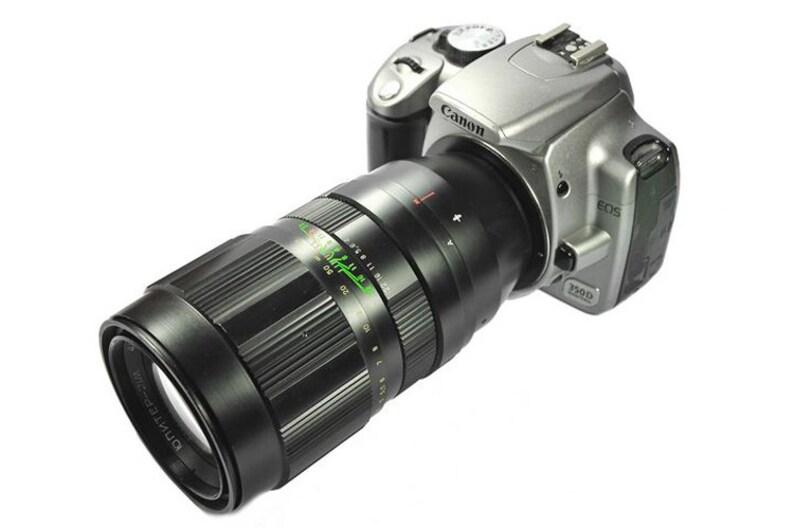 Jupiter-21M 200mm F4 Russian Vintage Lens for Sony Alpha
