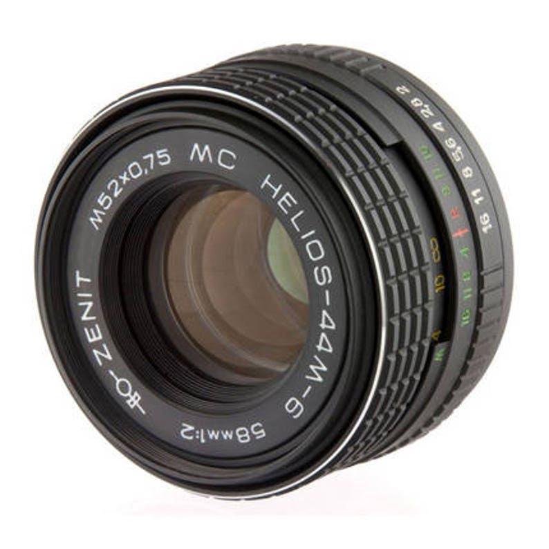 Helios 44M-6 58mm F2 Russian Vintage Lens for Sony Alpha (A-mount)