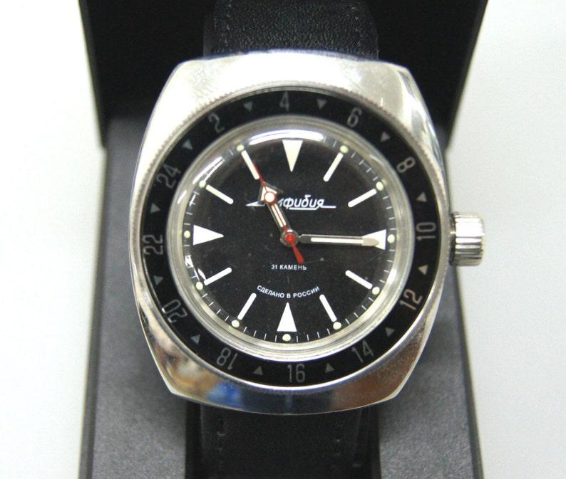 Vostok Amphibia Mod Russian Diving Watch Mod 28  6917af7a25