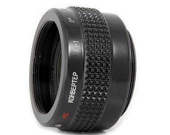Russian MC 2X Converter K-1 for M42 SLR camera lenses