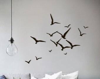 flying bird wall art etsy