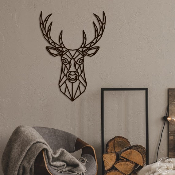3D Fall Maple Trees Beautiful Lodge Handmade Black Metal Wall Art