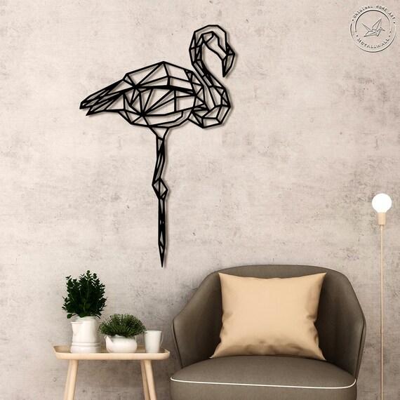 Géométrique Cœur Wall Art Decor Pendaison Décoration polygonale Choisissez Une Couleur