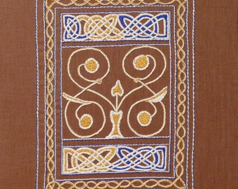 St Cuthbert's Gospel Pattern and Instructions - Instant Download PDF