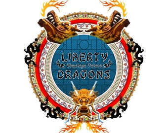 Liberty Dragon Etsy