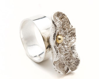 Barbados Creature Shell Ring