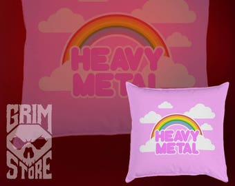 Pillow 15x15 cm Cute heavy metal