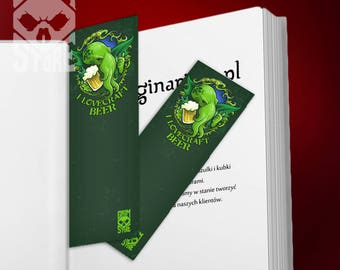 Bookmark I Lovecraft Beer