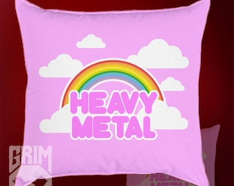 Pillow 40x40 cm Cute Heavy Metal