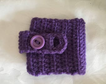 Mug warmer, mug cosy, purple mug warmer, crochet mug hug, purple mug hug, purple cup warmer, cup cozy, coffee cosy, tea cozy