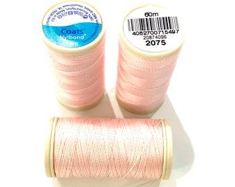 Coats hazelnut 8646 Nylbond extra strong beading thread 60mt