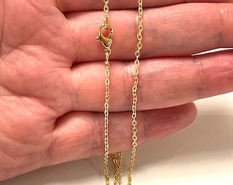 Gold Plated Necklace | Etsy