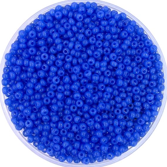 Preciosa  Seed Beads 80 Rocailles Round Hole-20 Gr 59115 Brown Iris