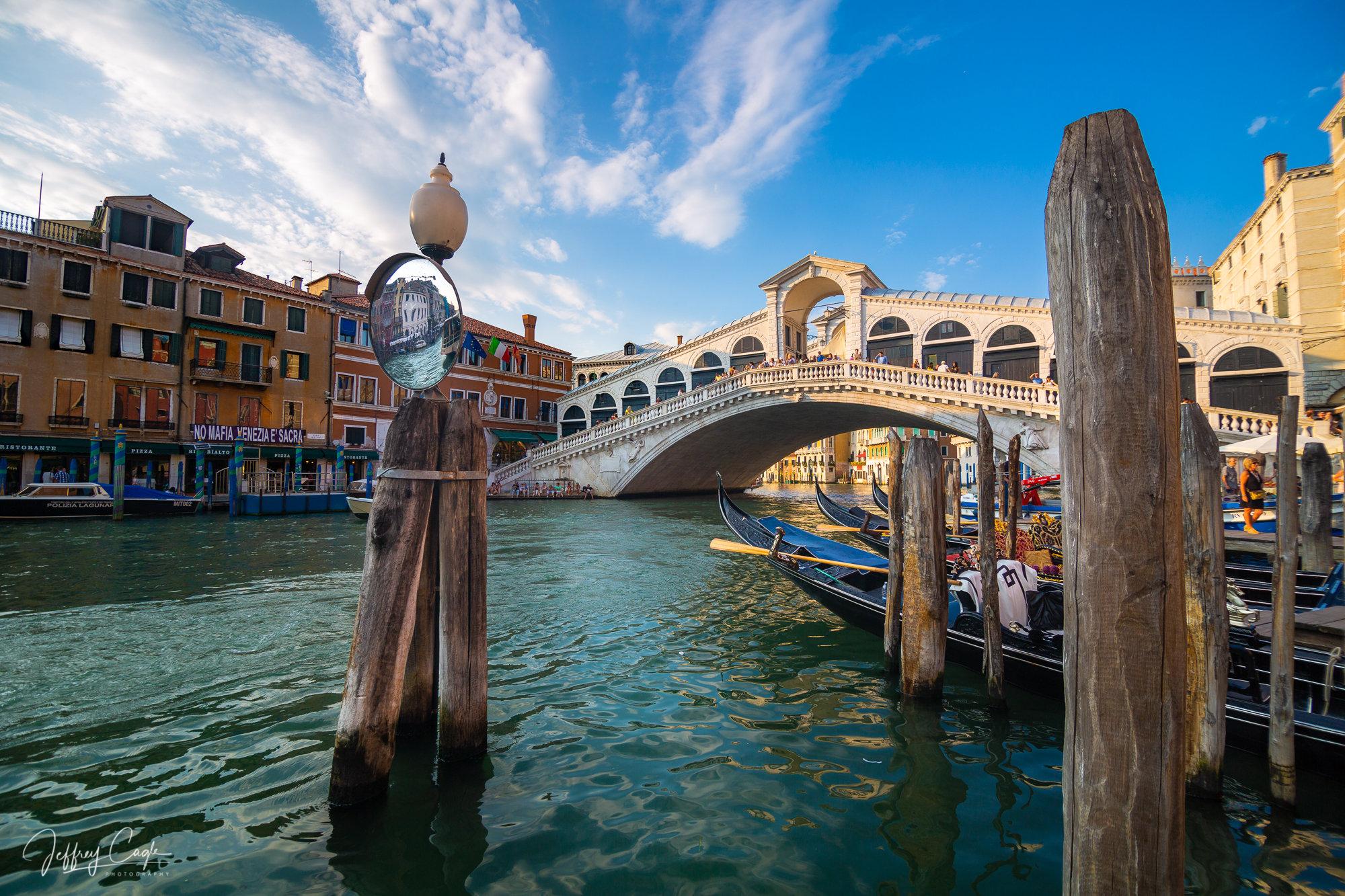 Rialto Bridge Venice Italy Dangling Bracelet Pendant Charm