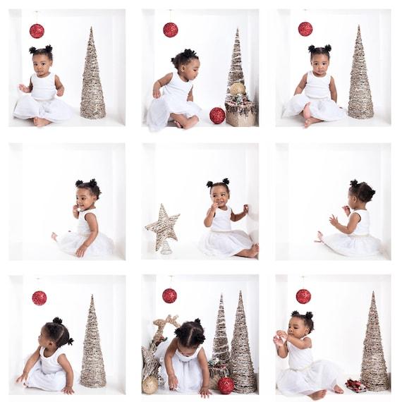 Christmas Mini Session Multi Image Box Composite